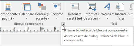 Blocuri componente Publisher