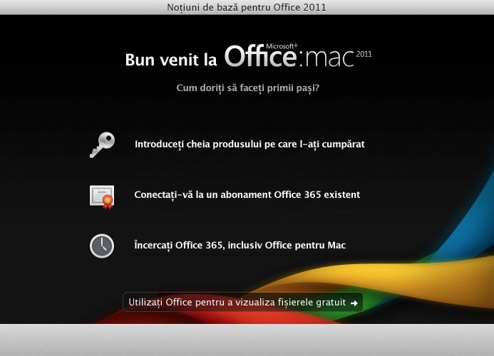 Conectați-vă la un abonament Office 365 existent