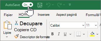 Comutarea automată în Excel