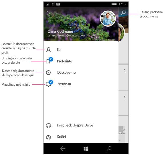 Delve pentru Windows Mobile