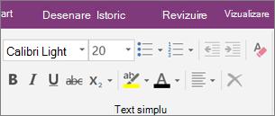 Faceți clic pe fila pornire și apoi faceți clic pe Anulare totală formatare