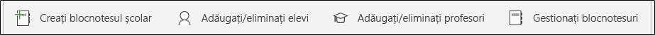 Gestionarea butoane de blocnotes școlar