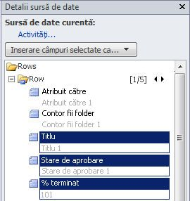 Deschidere site în SharePoint Designer 2010
