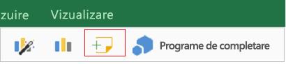 Adăugați un comentariu în Excel pentru iPad