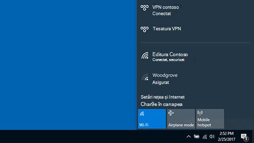 Conectat la VPN