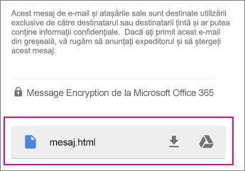 Vizualizator OME cu Gmail pe Android 1
