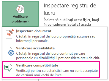 Verificare compatibilitate