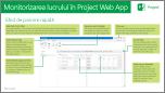 Monitorizarea lucrului în Project Web App rapidă Ghidul de pornire