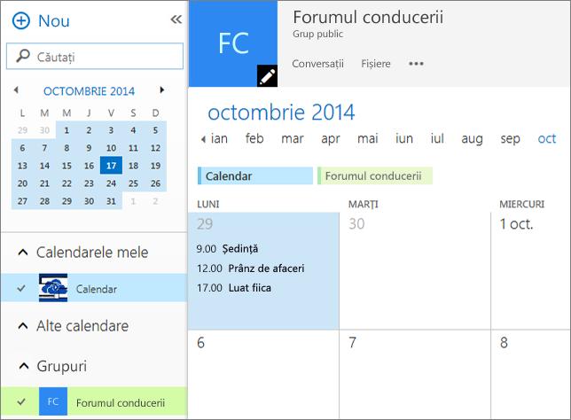 Calendar de grup