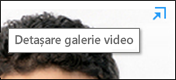 Detașare galerie video