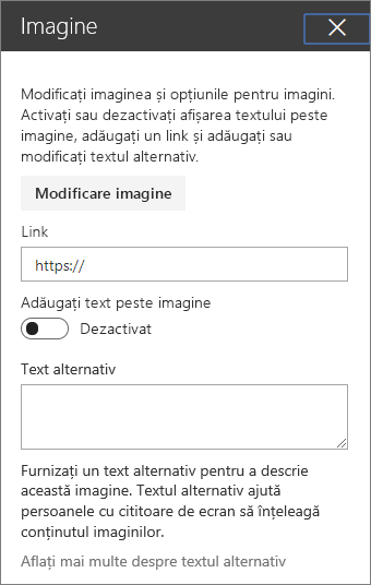 Instrumente parte Web imagine