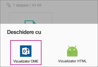 Vizualizator OME cu Yahoo Mail pe Android 2