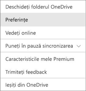 Centrul de activitate în OneDrive pentru Mac