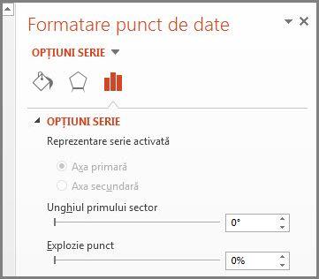 Formatare serie de date