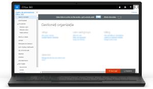Ilustrație cu Centrul de administrare Office 365. Aflați mai multe despre Centrul de administrare Office 365