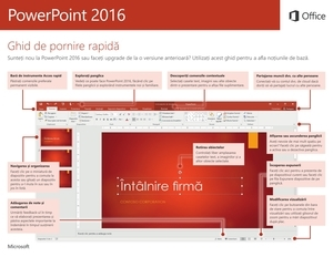 Pornire rapidă PowerPoint 2016 (Windows)