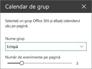 Set de instrumente calendar de grup