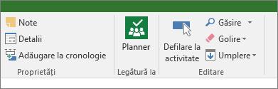 Imaginea butonului Planner de panglica Activitate