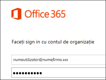 Office 365 portal sign in screen