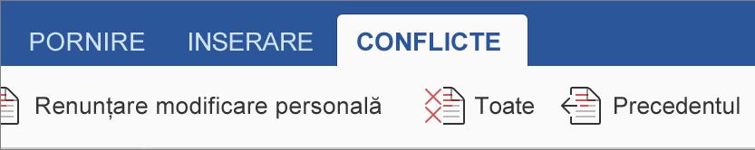 Fila Conflicte