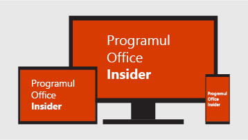 Programul Office Insider.