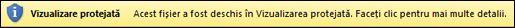 Vizualizarea protejată selectată de utilizator
