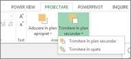 Aranjarea ordinii de vizualizare în Power View