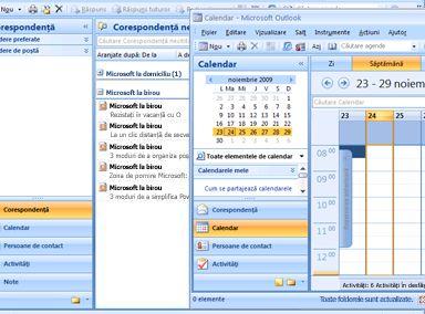 Redimensionarea și mutarea windows pentru a crea vizualizarea dorită.