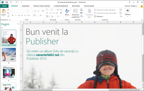 Descoperiți Microsoft Publisher