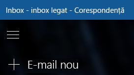 Alegeți e-mail nou pentru a compune un mesaj nou