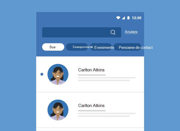 Afișează rezultatele căutării Outlook