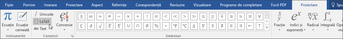 Formate de ecuație