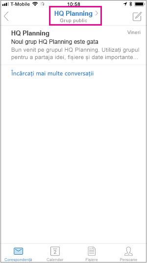Atingeți butonul de membru pentru a vedea pagina membri