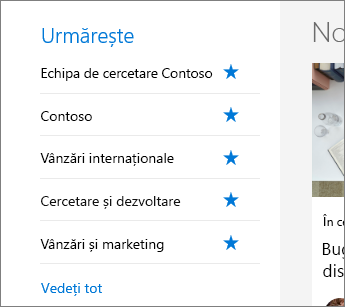 SharePoint Office 365 Continuare