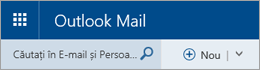 Bara de meniu Outlook Mail