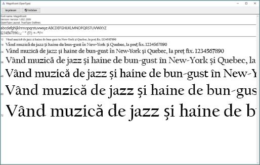 Examinare fonturi Windows vă permite să vizualizați și să instalați fonturi pe computerul dvs. Windows