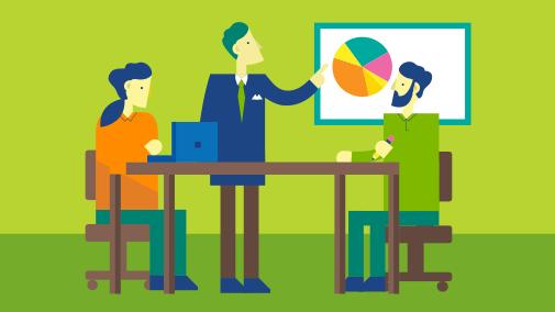 Lucrați ca într-o rețea în Office 365