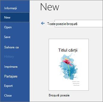"""Șabloane de căutare pentru """"broșură de poezie"""""""