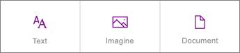 Captură de ecran cu selecțiile de conținut noi