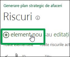 Element nou