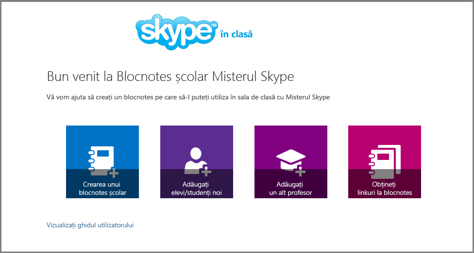Bun venit la Misterul Skype