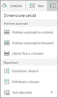 Opțiuni Windows Mobile potrivire automată