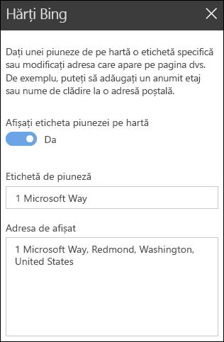 Bing hărți setul de instrumente parte Web
