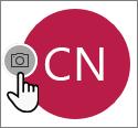 Selectați pictograma cameră pentru a adăuga o fotografie