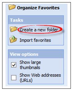 Creați un folder nou în drop jos