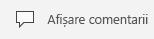 Butonul Afișare comentarii în PowerPoint Mobile pentru Windows 10