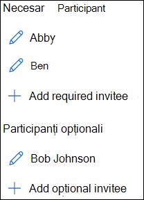 Listă invitați