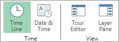 Butonul Cronologie din Power Map