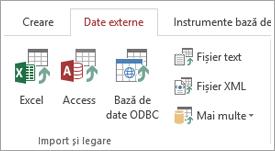 "Fila date externe Access """