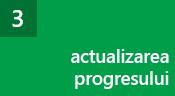 Pasul 3: Actualizați progresul